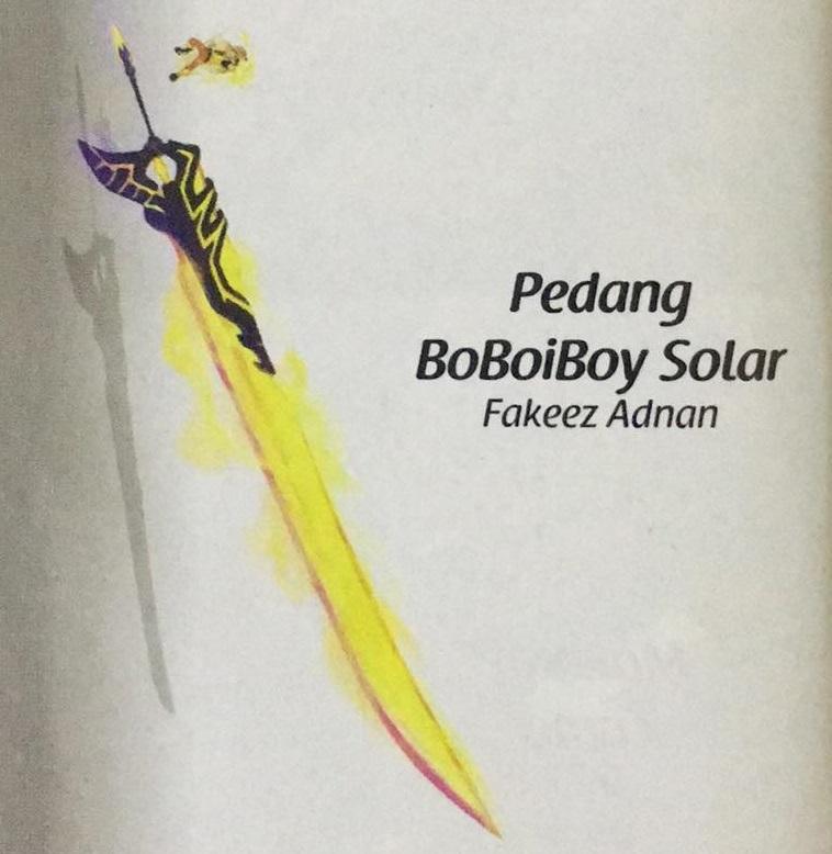 Pedang Solar Boboiboy Wiki Fandom Powered By Wikia