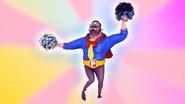 Papa Zola playing pom-pom 2