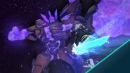Shadow Golem attacking Kaizo