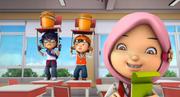 BoBoiBoy&Fang kena denda