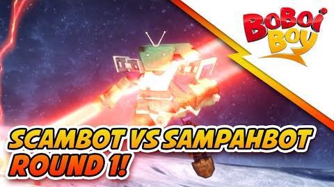 BoBoiBoy SampahBot vs Scambot Round 1