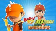 BoBoiBoy Petir 3D Puzzle Figurine Unboxing