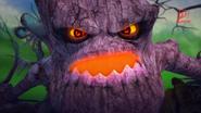 Hantu pokok nak mengamuk