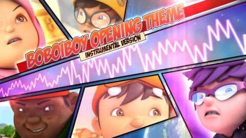 BoBoiBoy OST Main Theme Instrumental