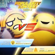 Popularity Contest EmotiBot VS BellBot