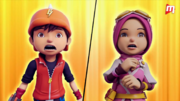 BoBoiBoy and Yaya shocked