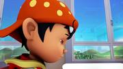 BoBoiBoy muka sedih