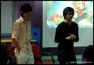 Anas abdul aziz and Kee Yong Pin
