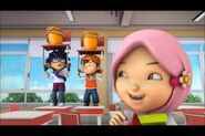 Yaya punish boboiboy and fang
