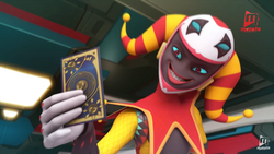 Jokertu-hold-fang-card