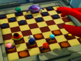 The Giant Game of Checkers