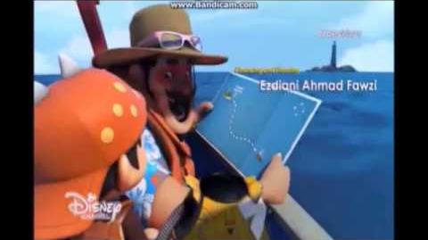 BoBoiBoy The Movie End Credits My Heart Will Go On (2018 Rebrand Disney Channel Asia)