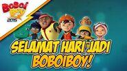 Ulangtahun BoBoiBoy ke-4