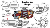 Emotion Pistol Gun concept