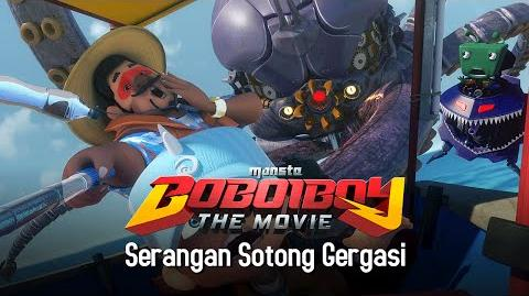 Klip BoBoiBoy The Movie Serangan Sotong Gergasi!