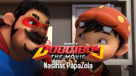 Klip BoBoiBoy The Movie Nasihat Cikgu Papazola
