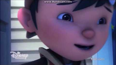 BoBoiBoy The Movie My Heart Will Go On (BoBoiBoy apologized to Ochobot) - 2018 Disney Channel Asia