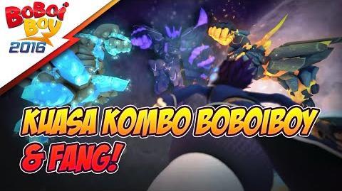 Serangan Kombo BoBoiBoy Gempa & Fang