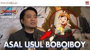 BEHIND-THE-SCENES 1 Asal Usul BoBoiBoy BoBoiBoy's Origin (ENG subtitles)