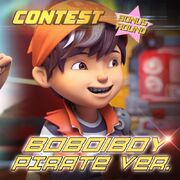 Popularity Contest - BoBoiBoy Pirate ver.