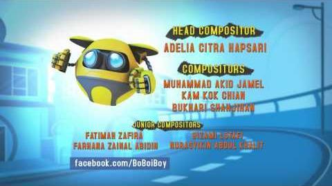 "BoBoiBoy Ending Credits ""Bersedia"" (BM)"