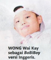 Wong Wai Kay for English version