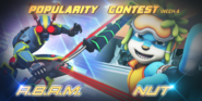 Popularity Contest - A.B.A.M. and Nut