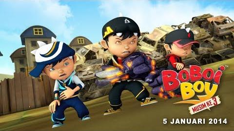 BoBoiBoy Musim 3 Januari Extended Promo