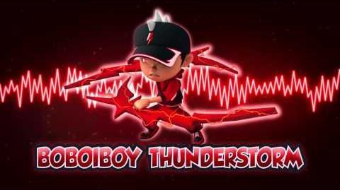 BoBoiBoy Thunderstorm Theme