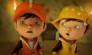BoBoiBoy Lightning and Wind