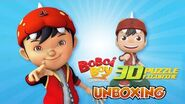 BoBoiBoy 3D Figurine Unboxing