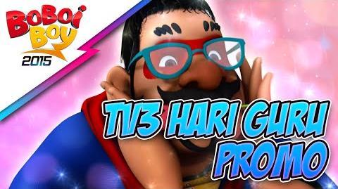 BoBoiBoy Promo Hari Guru