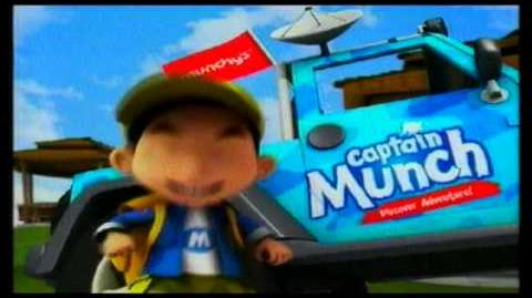 Promo BoiBoiBoy (Tv3 Kids) Penaja Utama - Captain Munch @ Tv3! (Setiap Ahad)