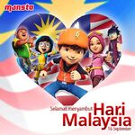 BoBoiBoy Galaxy Malaysian Day
