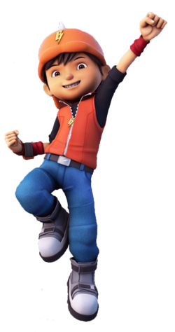 BoBoiBoy in Galaxy