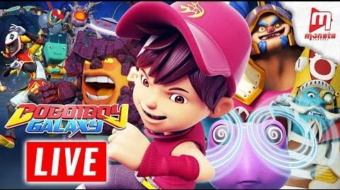 🔴 Monsta TV LIVE 24 7! - (BoBoiBoy Galaxy, Om Nom Stories, Impian REMI)