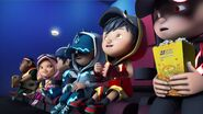 Later that night after shooting for Boboiboy The Movie...