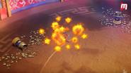 Jugglenaut use Explosive abilities