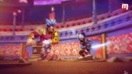 Jugglenaut vs Captain Kaizo