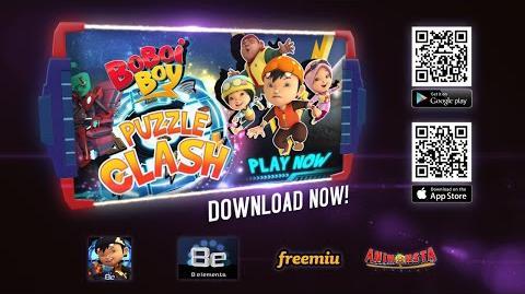 BoBoiBoy Puzzle Clash Promo