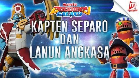 Kapten Separo Dan Lanun Angkasa