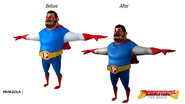 Papa Zola - Before and After