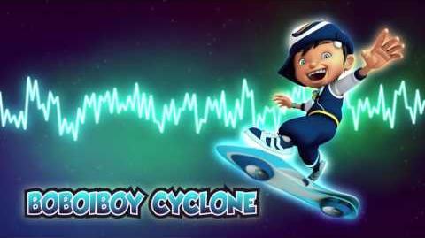 BoBoiBoy Cyclone Theme