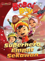 Episode 2 Superhero Empat Sekawan
