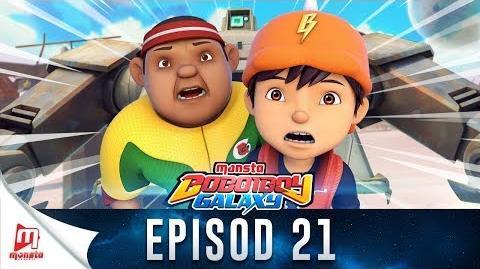 BoBoiBoy Galaxy EP21 Jagara Si Robot Jaga - (ENG Subtitle)