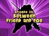 Between Friend and Foe
