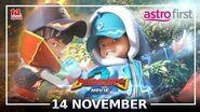 14 NOV! BoBoiBoy Movie 2 di Astro First!