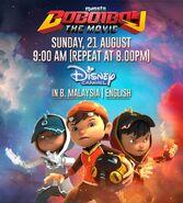 BoBoiBoy Disney Channel Asia Premiere