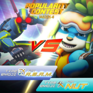 Popularity Contest - A.B.A.M. VS Nut
