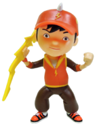 BoBoiBoy Action Figures Thunder